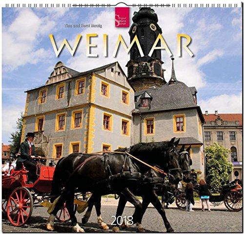 WEIMAR: Original Stürtz-Kalender 2018 - Mittelformat-Kalender 33 x 31 cm