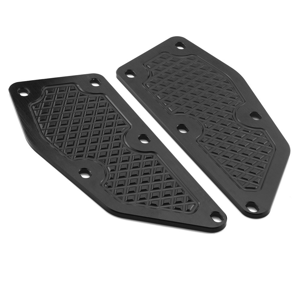 Heinmo Motorcycle Front and rear footrest footrest Footrest Step Motorcycle pedals Extension stand for Yamaha XMAX 250 2011-16 XMAX300 2017-18
