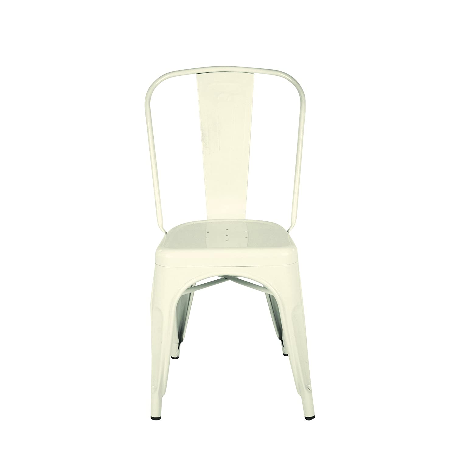 Amazon Creative Co op Metal Dining Chair with Powder Coating