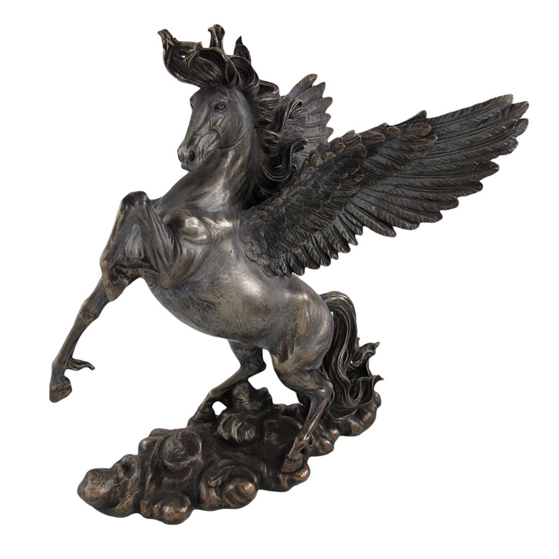 Flying Horse Figurine for Home Decor Top Collection 11 Greek Pegasus Statue in Cold Cast bronze