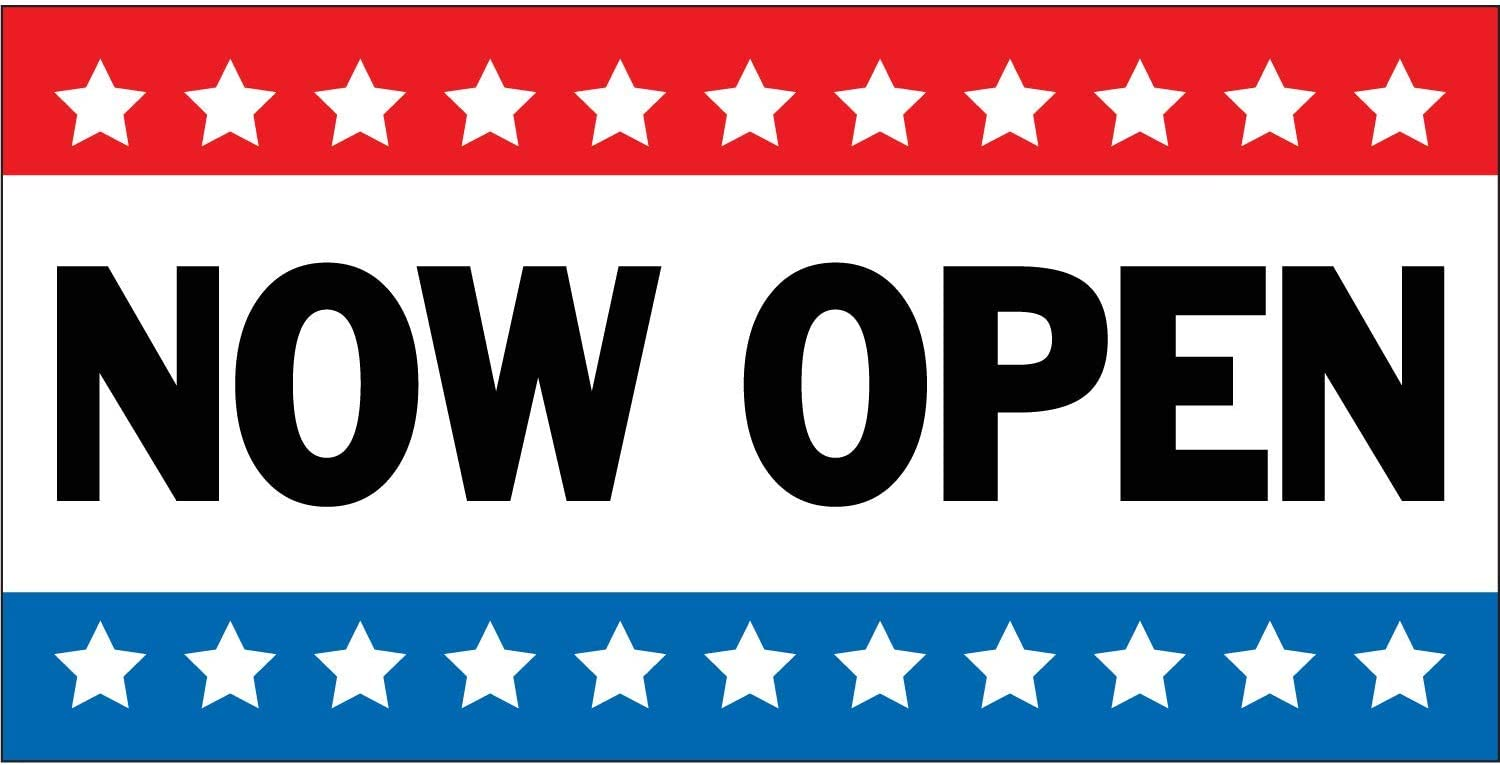 Best Quality for The $$$ 2x4 NOW OPEN Banner Sign NEW Discount Size