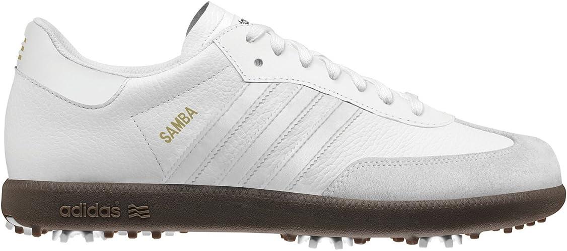 Amazon.com | adidas Mens Samba Golf Shoes (15) | Golf