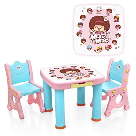 YSA Mesas de café Mesa de Estudio para niños Mesa y Silla para ...