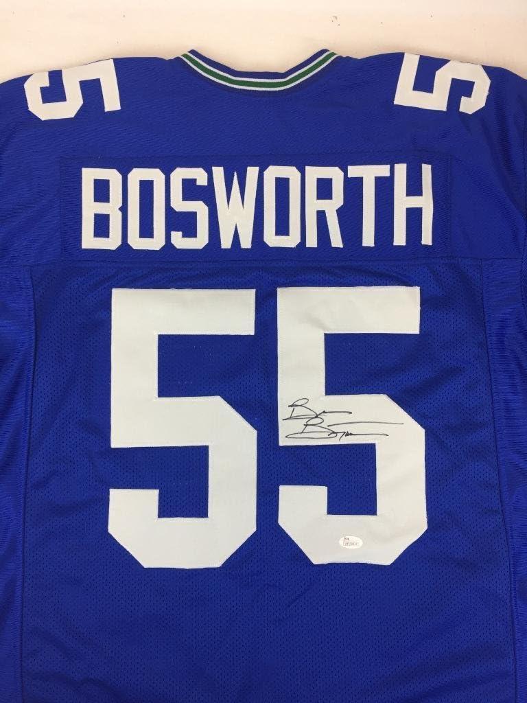 Brian Bosworth signed jersey Jsa witn coa Seattle Seahawks ...