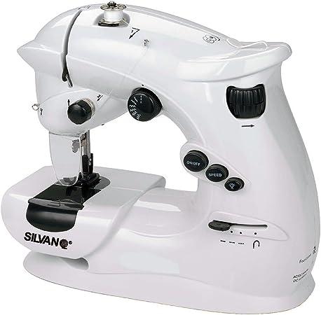 SILVANO Máquina De Coser CR48: Amazon.es