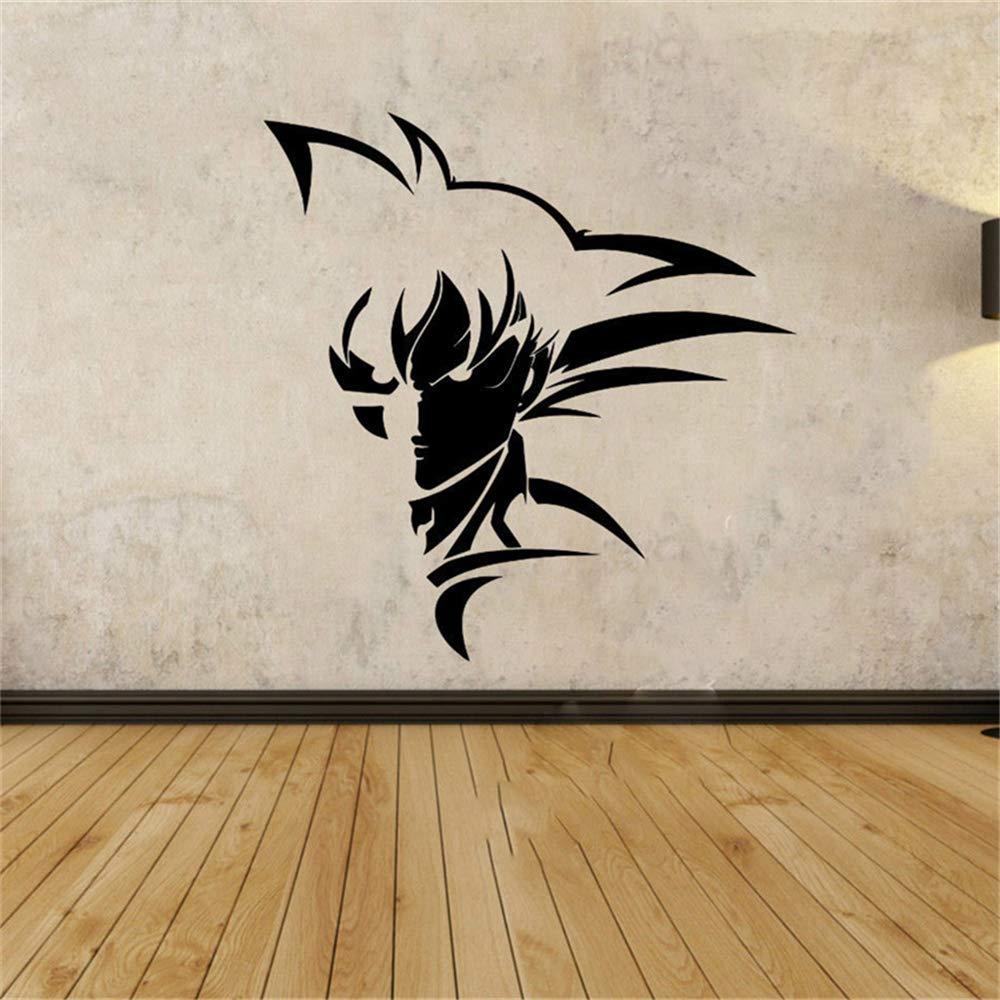 Dragon Ball tatuajes de pared Super Saiyan Goku vinilo tatuajes de ...