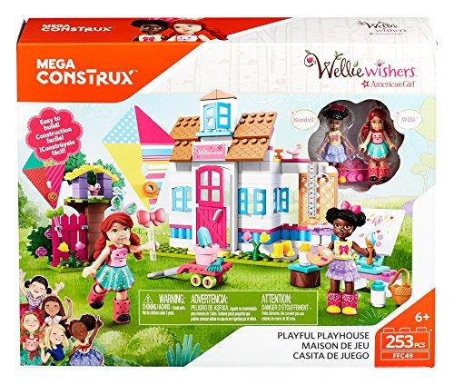 [해외]메가 Construx Welliewishers 놀이터 극장 Buildable Playset/Mega Construx Welliewishers Playful Playhouse Buildable Playset