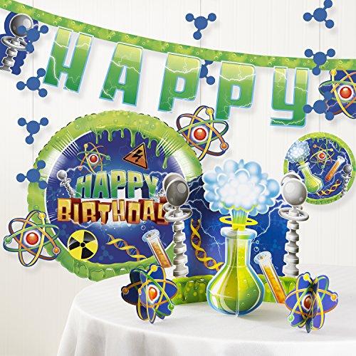Forum Novelties Mad Scientist Birthday Party Decorations -