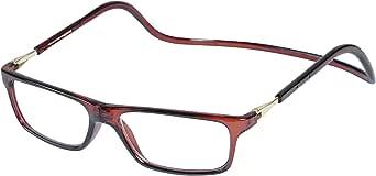 Magnetic Reading Glasses Plastic 2.0 Brown
