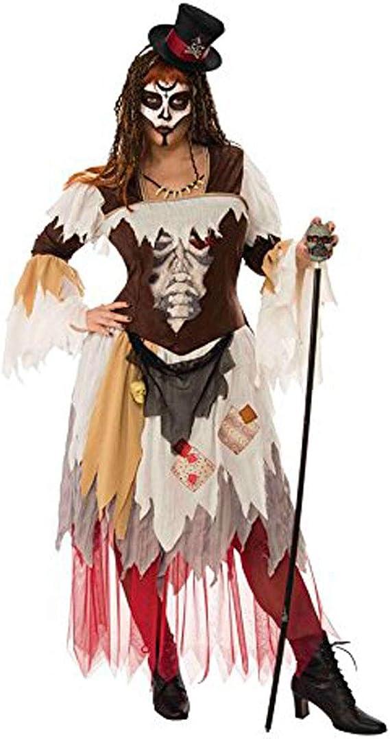 Rubies- Disfraz Voodoo Woman Ad, Multicolor, Talla única (700366 ...