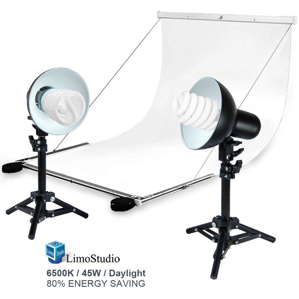 LimoStudio Foldable Studio Lighting Photo Shooting Table, Digital Photo Portable Ecommerce Business Shooting Table, White Background, AGG1823 by LimoStudio