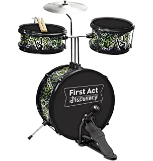 Amazon.com: First Act Discovery 4-Pc. Drum Set - Toys R Us Exclusive ...