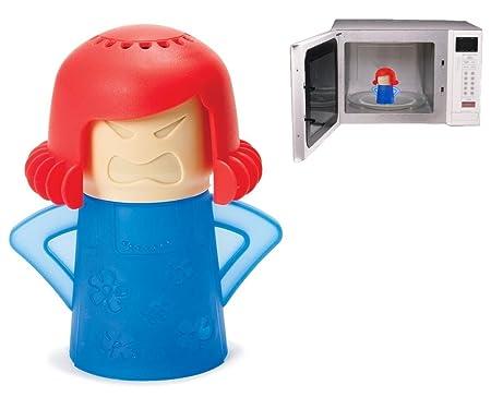Angry Mamma microondas limpiador – fácil y rápido uso de limpieza rápida para todas las manchas