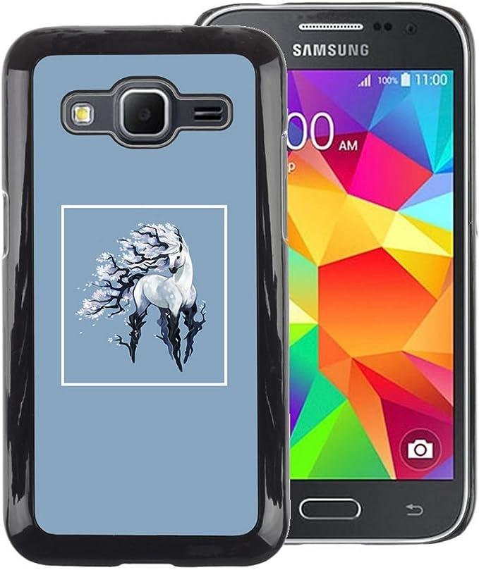 cover samsung galaxy core prime unicorno