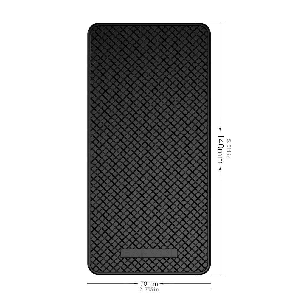 Dashboard Cell Phone Holder Ganvol Anti-slip Car Dash Sticky Pad for iPad//Samsung Tab//Huawei tablet//Radar Detector Dont Melt under Hot Sun Heat Resistant Non-Slip Mat Extra Large 21x13.5cm