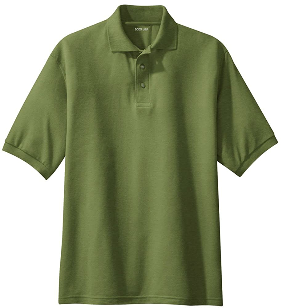 Joes Usa Mens Classic Polo Shirts In 36 Colors And Sizes Xs 10xl