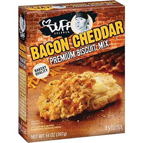(Duff Goldman Bacon Cheddar Biscuit Mix, 397 Gram Box)