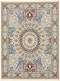 Unique Loom Narenj Collection Classic Traditional Medallion Textured Ivory Area Rug (10′ x 13′) Review