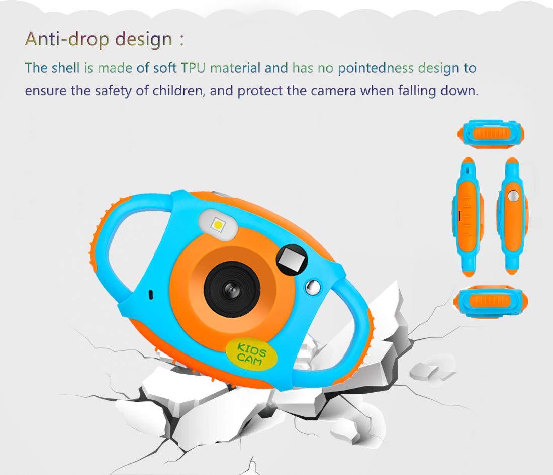 Camara de Fotos para Ni/ños C/ámara para Ni/ños Camara Digital Ni/ños con 1.77 HD Pantalla En Color 5MP Recargable Digital Mini C/ámaras de Video Ni/ños
