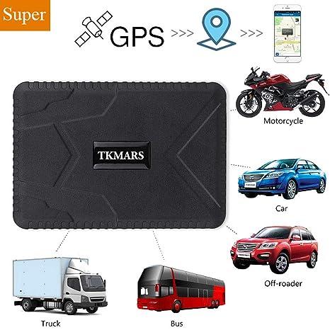 Rastreador de GPS con potentes imanes, rastreo en Tiempo Real Rastreo de vehículos GPS Localizador