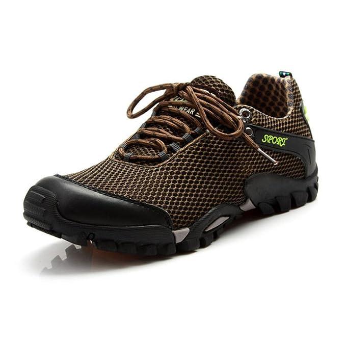 YEEOGF Zapatillas Para Hombre Para Mujer Slip On Running Ligero Zapatillas Al Aire Libre De Malla Transpirable Zapatillas Casual Para Caminar: Amazon.es: ...