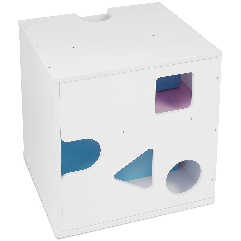 color blanco Babybay Babycube Cubo para sentarse//jugar