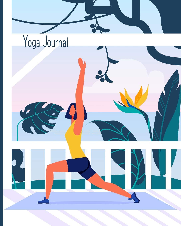 90 Day Yoga Journal & Planner: Record Progress, Poses ...