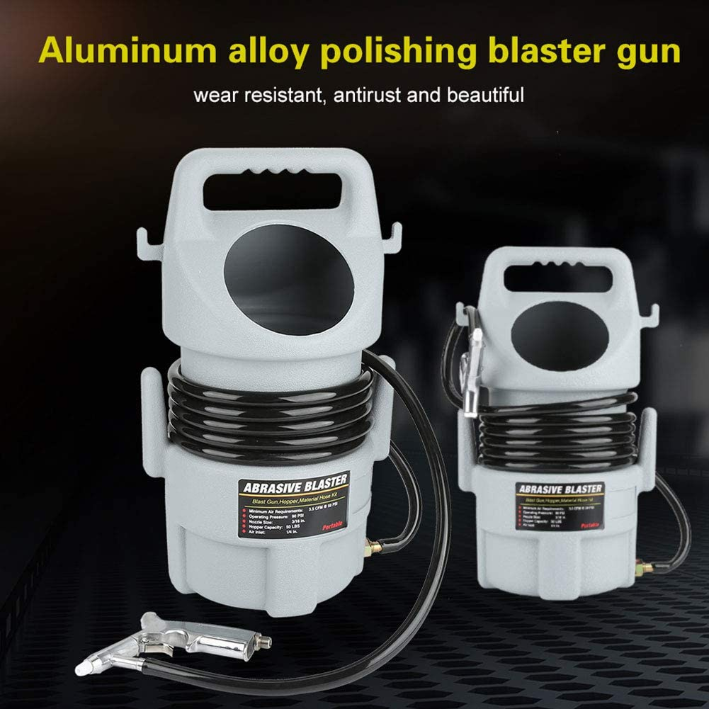 Mobiles arenadora con Dep/ósito y pistolas pistola arenadora de aire comprimido