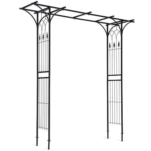 USA_BEST_SELLER Arco de pérgola para jardín Plantas trepadoras ...