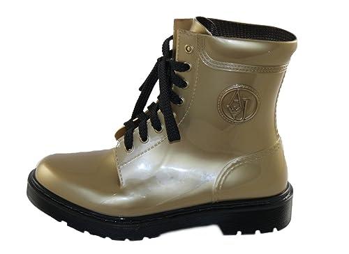 Armani Jeans - Stivali di gomma Donna  Amazon.it  Scarpe e borse eb6386a8201