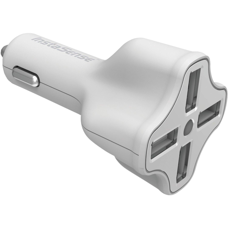 Amazon.com: 4 puertos USB cargador de coche con InstaSense ...