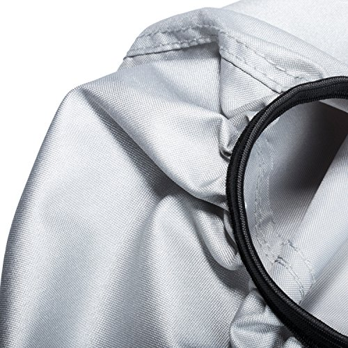 Yoursme Generator Waterproof Cover for Honda Generator EU3000is Predator 3500 Silver Outdoor Power Equipment Storage Replace 08P57-ZS9-00S by Yoursme (Image #3)