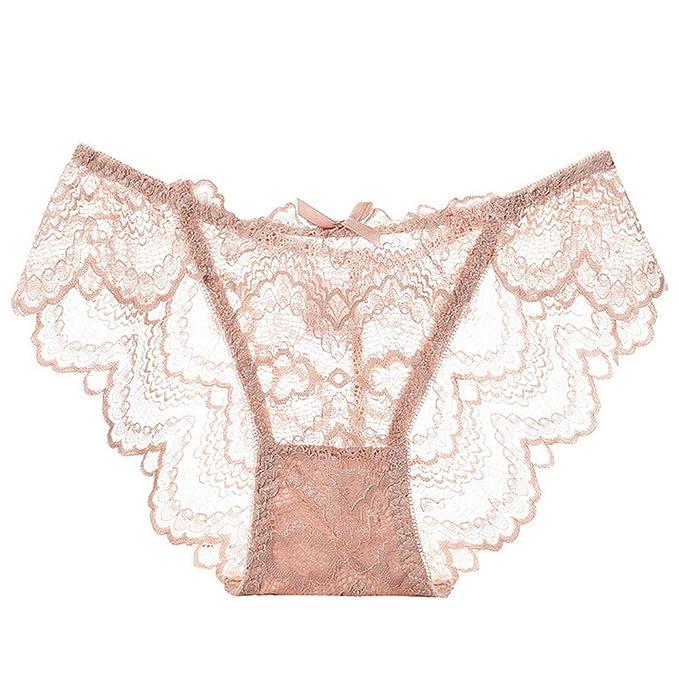 ff719fec4872 Ropa Interior Vintage, Ropa Interior Invierno Mujer, Ropa Interior  Impermeable, Panties Sexy Lace Underwear, Rosado, Medium: Amazon.es: Ropa y  accesorios