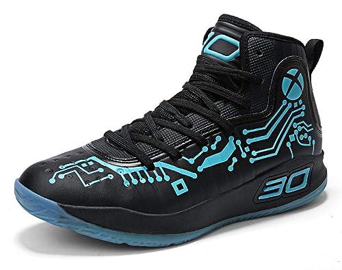 Amazon.com: No.66 TOWN - Zapatillas de baloncesto para ...