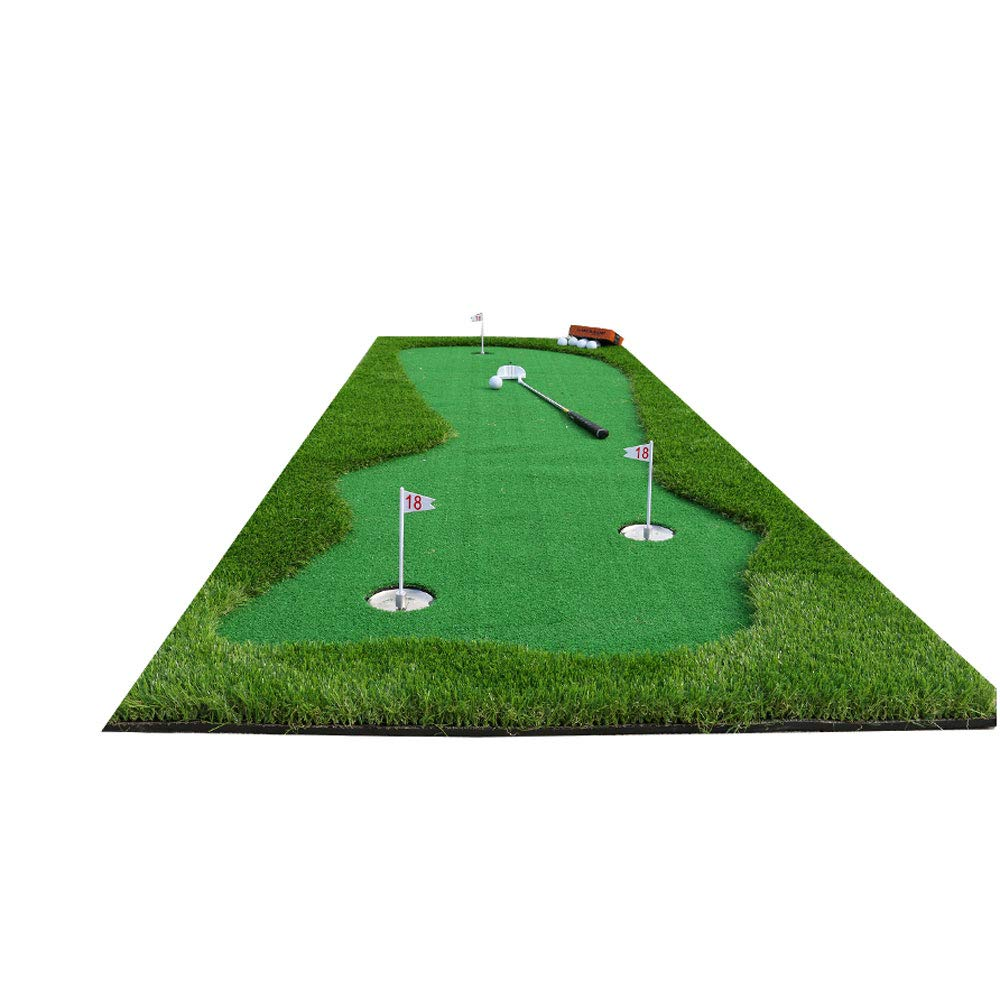 YX Xuan Yuan ゴルフインドア練習マット パット練習マット 300×100cm B07GCLDH2Z