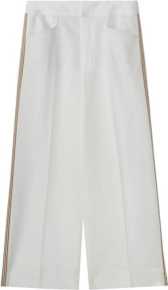 Massimo Dutti 5032/563/250 - Pantalones de Culote para Mujer ...