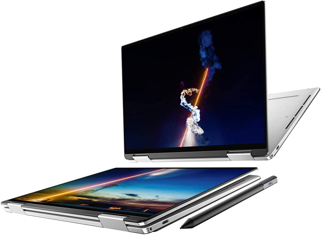 XPS 13 2-in-1 7390 13.4 4K UHD+ (3840x2400) Touch i7-1065G7 Intel Iris Plus Graphics 1TB SSD 32GB RAM Windows 10 (Renewed)
