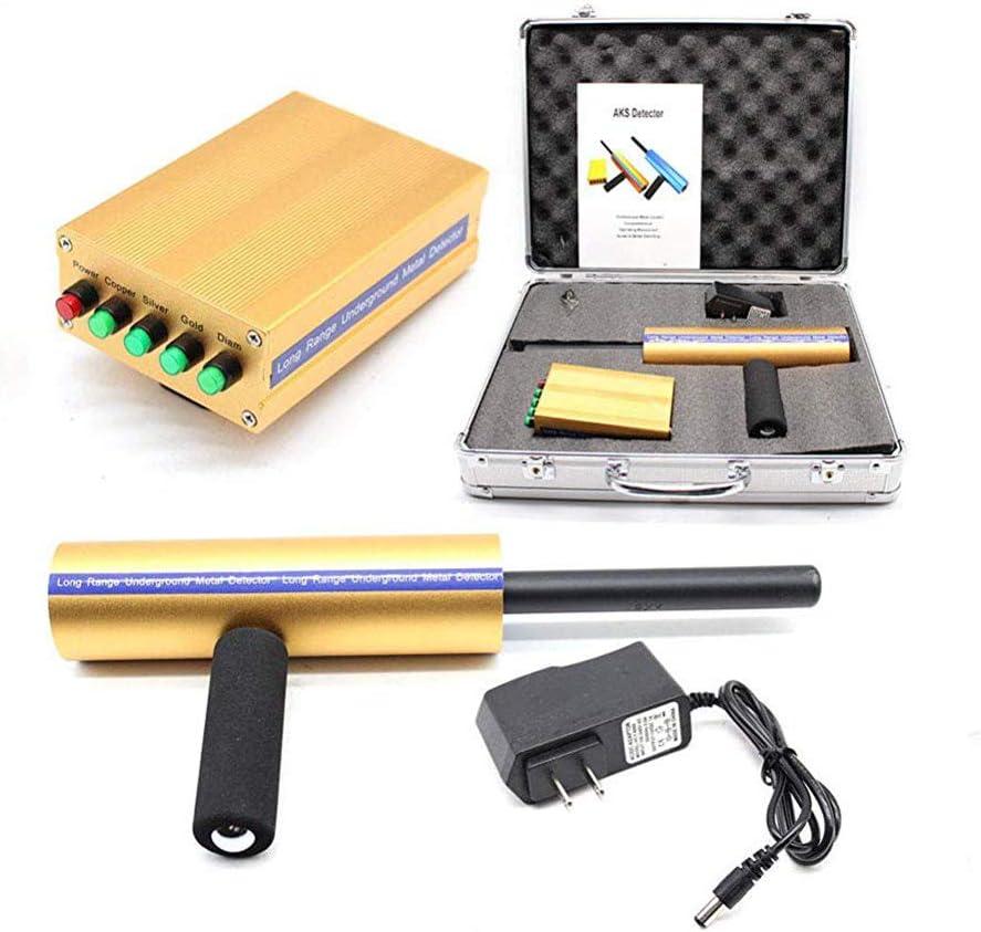 4YANG Detector de oro 3D 3280 pies de largo rango de búsqueda Detector de metales de oro AKS Detección de profundidad 46 pies: Amazon.es: Jardín