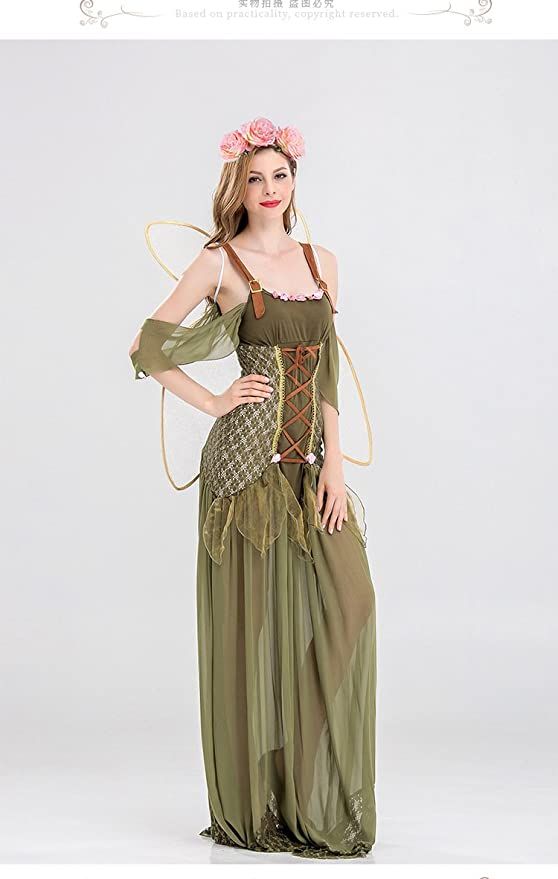 9ced03831a0 Fairy Costume For Women - Forest Princess Costume Adult Halloween Fairy  Costume