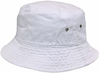 63f6031a05d Newhattan Short Brim Visor Cotton Bucket Sun Hat