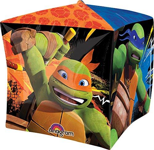 Anagram International Teenage Muntant Ninja Turtles Cubez Balloon Pack, 15