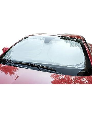 Delleu Parabrezza Parabrezza per Auto Pieghevole riflettore Raggi UV Auto Anteriore Finestra Parasole Copertura Visiera Scudo,Mantiene Il Veicolo Fresco