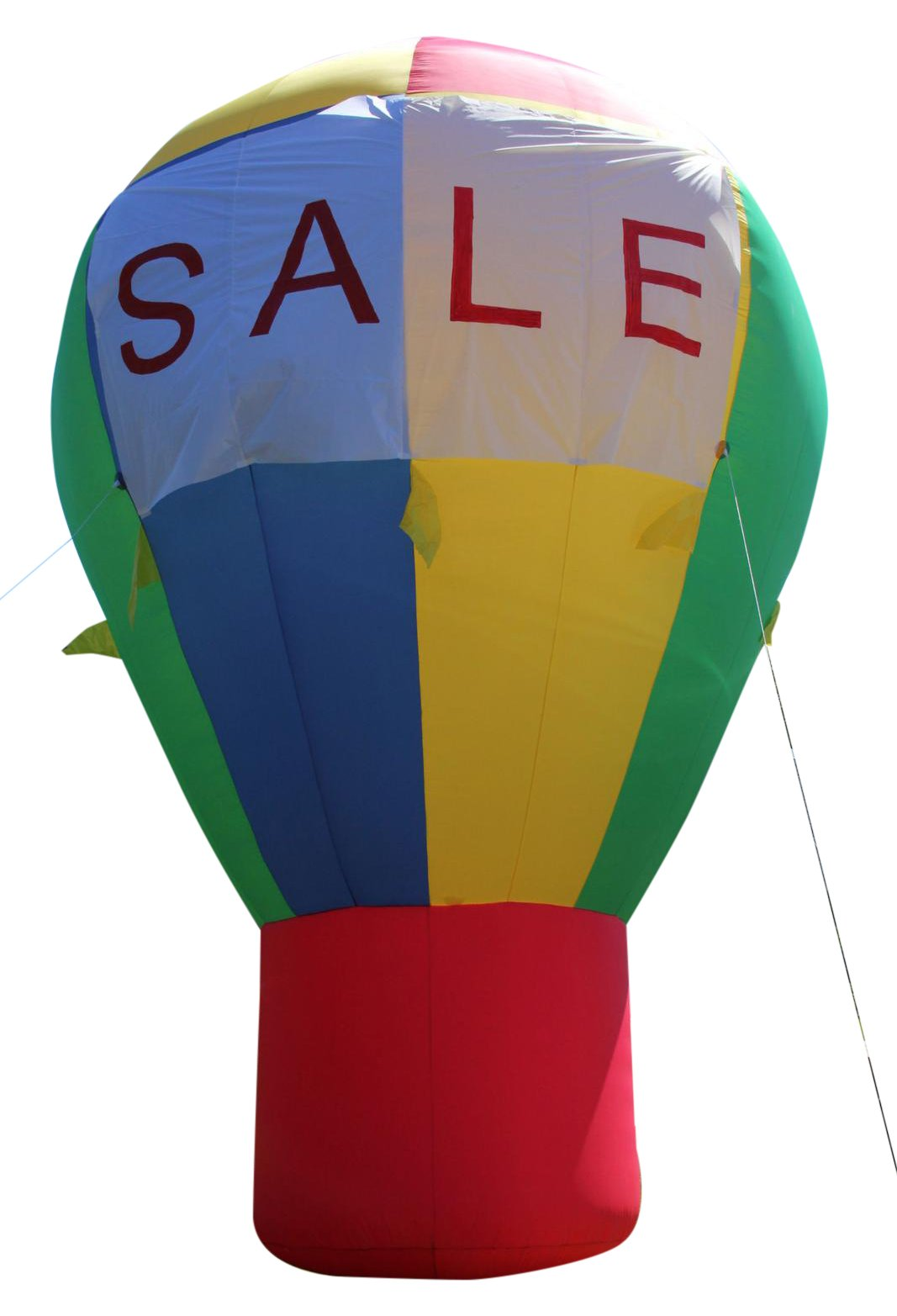 CC Inflatables 20' Promotional Advertising Inflatable Hot Air Style Balloon - Rainbow Color