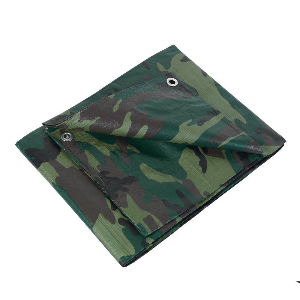 Ribitech - prbc1301, 8x3 - Bâ che impermé able et imputrescible camouflage 1, 8 x 3 m 8x3 - Bâche imperméable et imputrescible camouflage 1 52