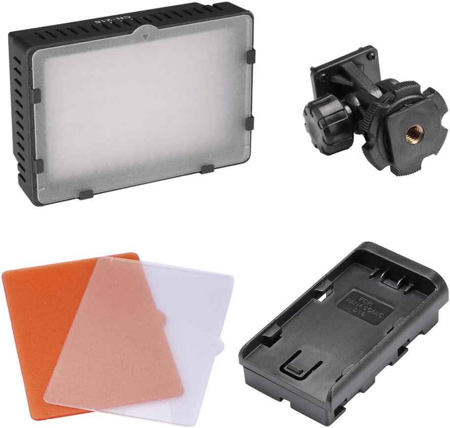 Nikon Pentax Panasonic 32//80cm Mini Light Stand Neewer Photo Studio CN-216 LED Lighting Kit for Canon 2 Sony CN-216 LED Video Light+ 2 Samsung and Olympus Digital SLR Cameras,Include
