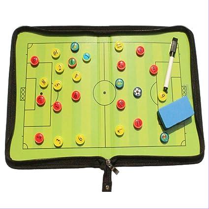 REFURBISHHOUSE Tabla magnética con Marcador para fútbol o ...