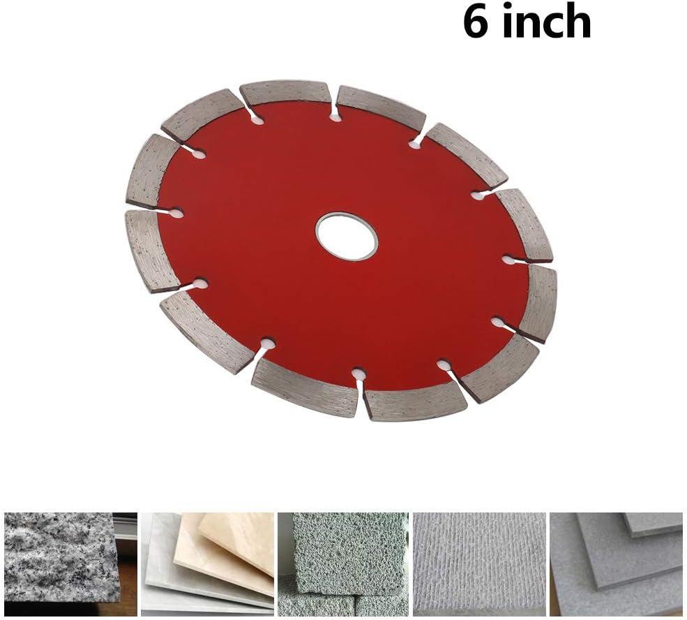 "6/"" 150mm Diamond Saw Blade Segmented Cutting Disc for Ceramic Tile Granite"