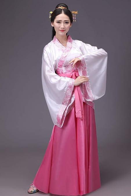 SUNJING Traje clásico de Hanfu para Mujer Tang, Chino ...