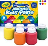 Crayola Washable Kids Paint, Pack of 6