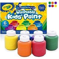 Crayola Washable Kids Paint, Pack of 6